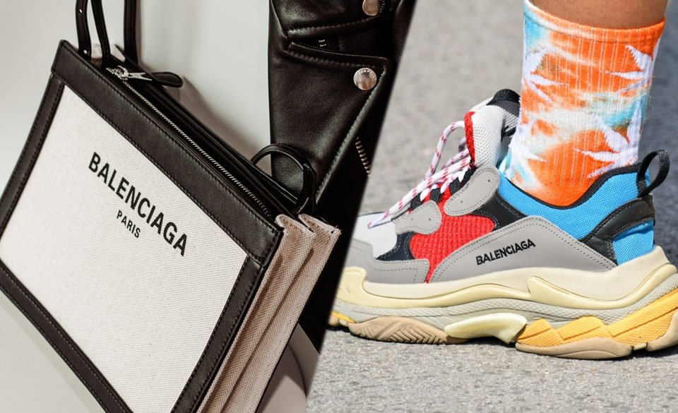 Bolso y zapatillas Balenciaga