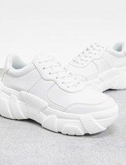 Chunky sneakers en blanco Dasha para mujer