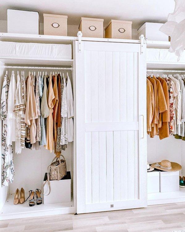 Fondo de armario y orden para encontrar el outfit que necesitas en cada momento