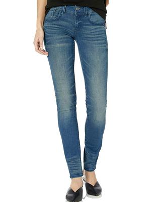 Jeans ajustados de mujer lavado medio G-STAR RAW