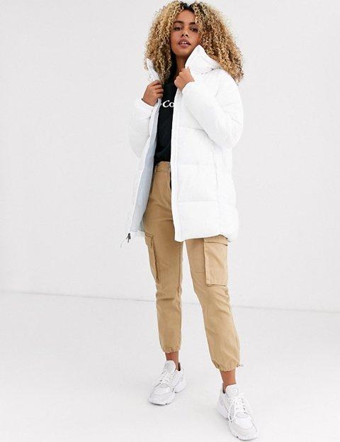 Outfit abrigo blanco mujer Columbia