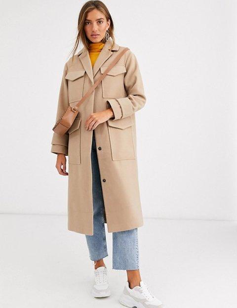 Outfits con abrigo camel