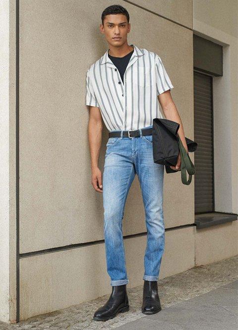 Outfit con botas otoño hombre