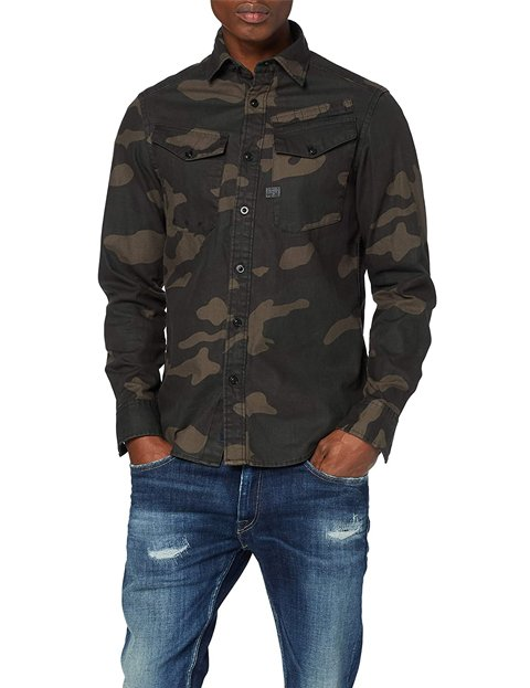 Camisa militar hombre outfit - G-STAR RAW Lecite Straight