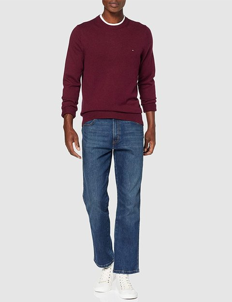 Outfit jersey rojo Tommy Hilfiger hombre