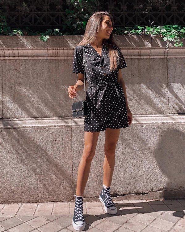 Outfits bonitos y sencillos con vestidos de temporada