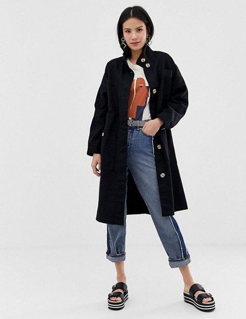 Outfits con abrigos para mujer negro