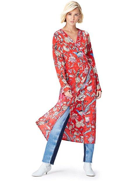 Outfits con vestidos floreados