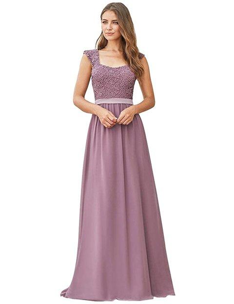 Outfits con vestidos largos elegantes