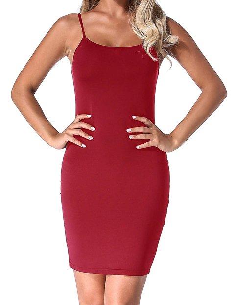 Outfits para vestido rojo