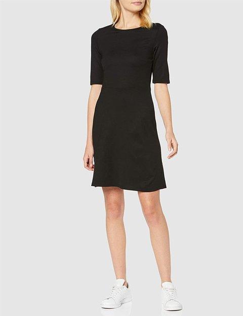 Outfits vestido negro corto
