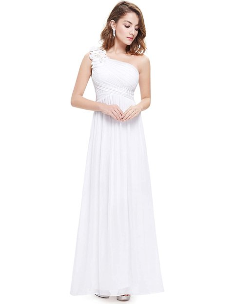 Outfits vestidos blancos elegantes