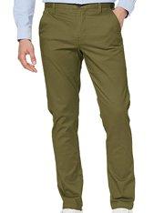Pantalón chino verde Khaki para hombre