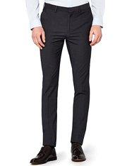 Pantalón muy ajustado de vestir en gris charcoal para hombre
