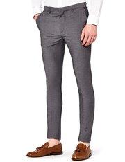Pantalón slim-fit color gris elegante para hombre
