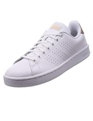 Zapatillas de deporte blancas de mujer Adidas Advantage