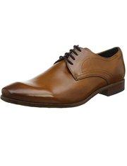 Zapatos elegantes marrones con cordones Bugatti para hombre