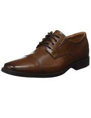 Zapatos marrones con cordones Clarks Tilden para hombre